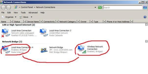 ponte de rede